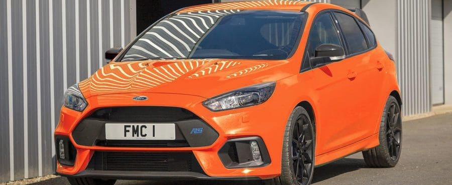 Ford Focus RS Heritage Edition Launched