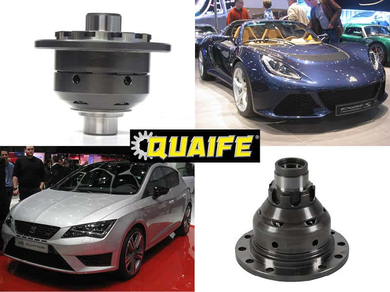 Quaife ATB Limited Slip Differential - Power Into Motion