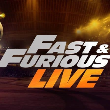 Fast & Furious Live banner