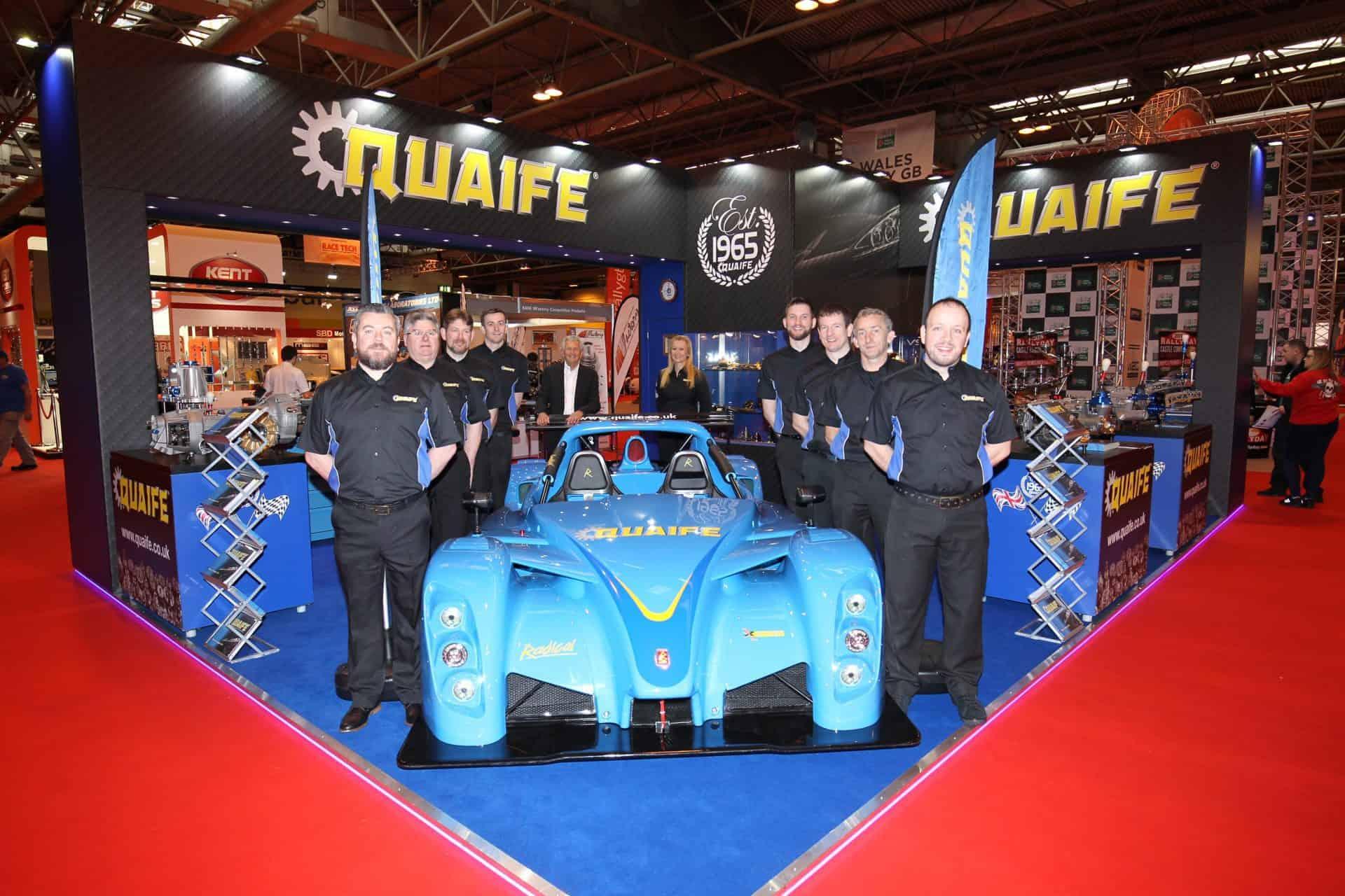 Quaife at Autosport