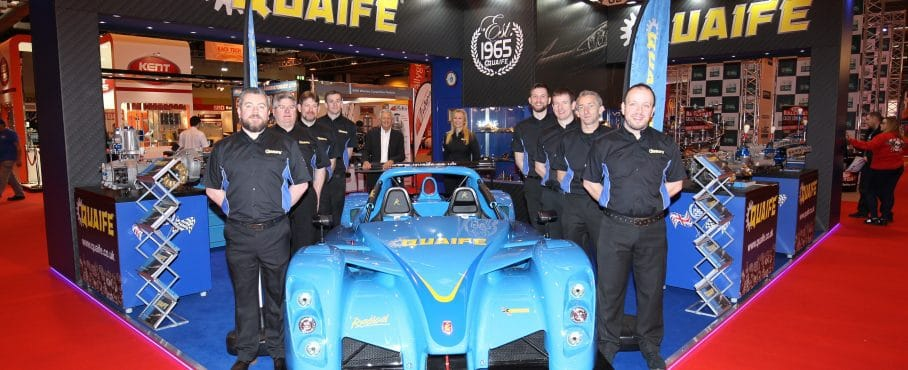 Quaife Head of R&D Mick Oakley Celebrates 30 Years of Service