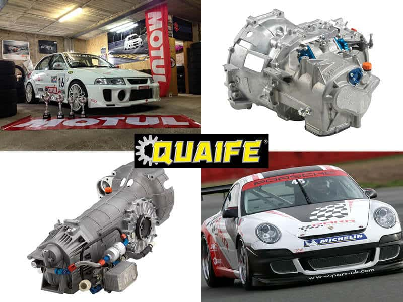 Motorsport Gearbox montage 2