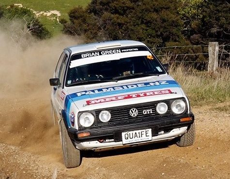 Buist takes 2nd in opening round of New Zealand's Otago Classic Rally
