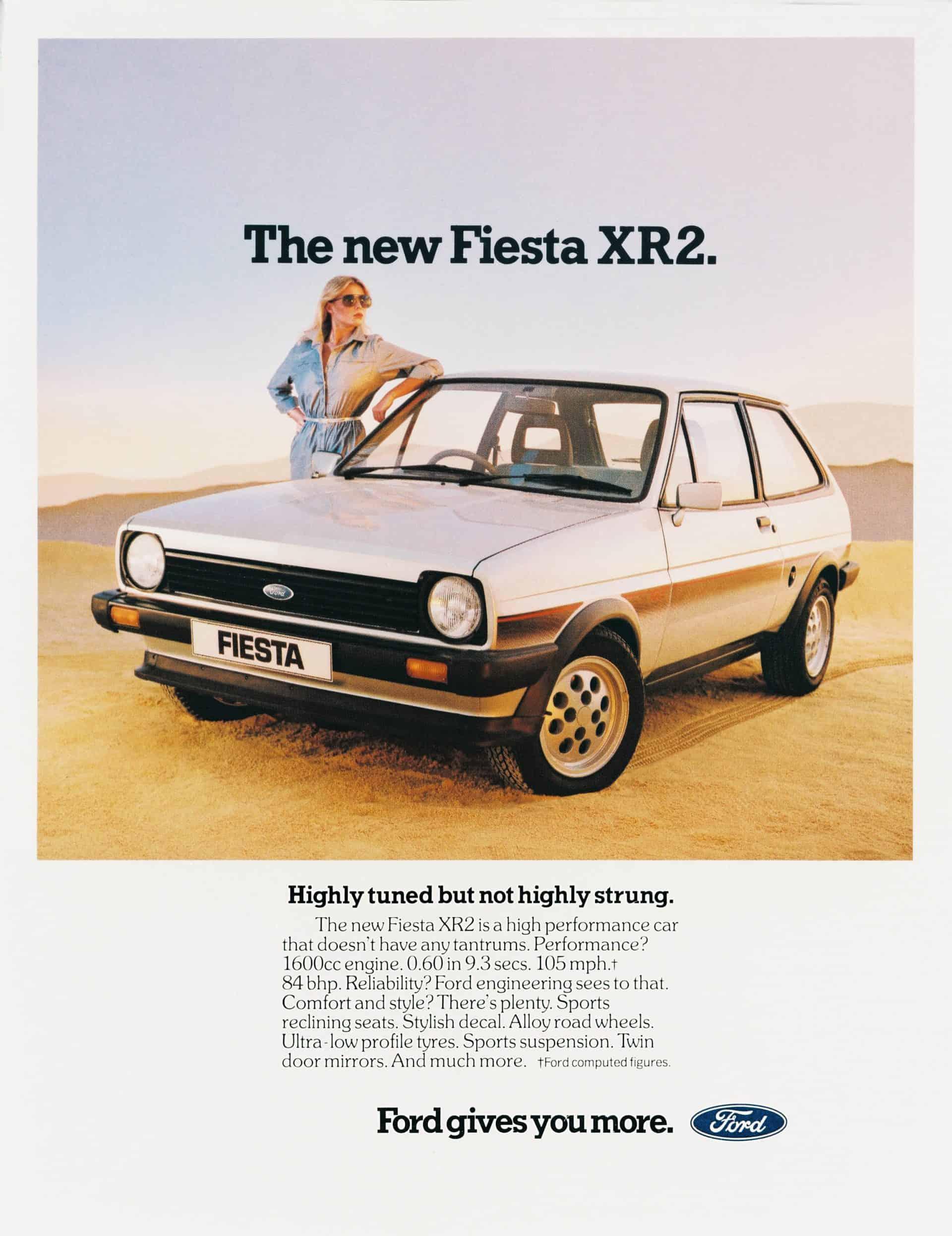1982 Fiesta XR2 Mk1 ad