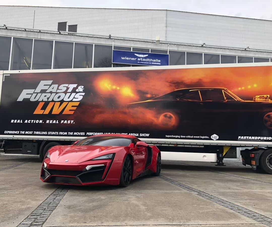 Fast & Furious Live Lykan