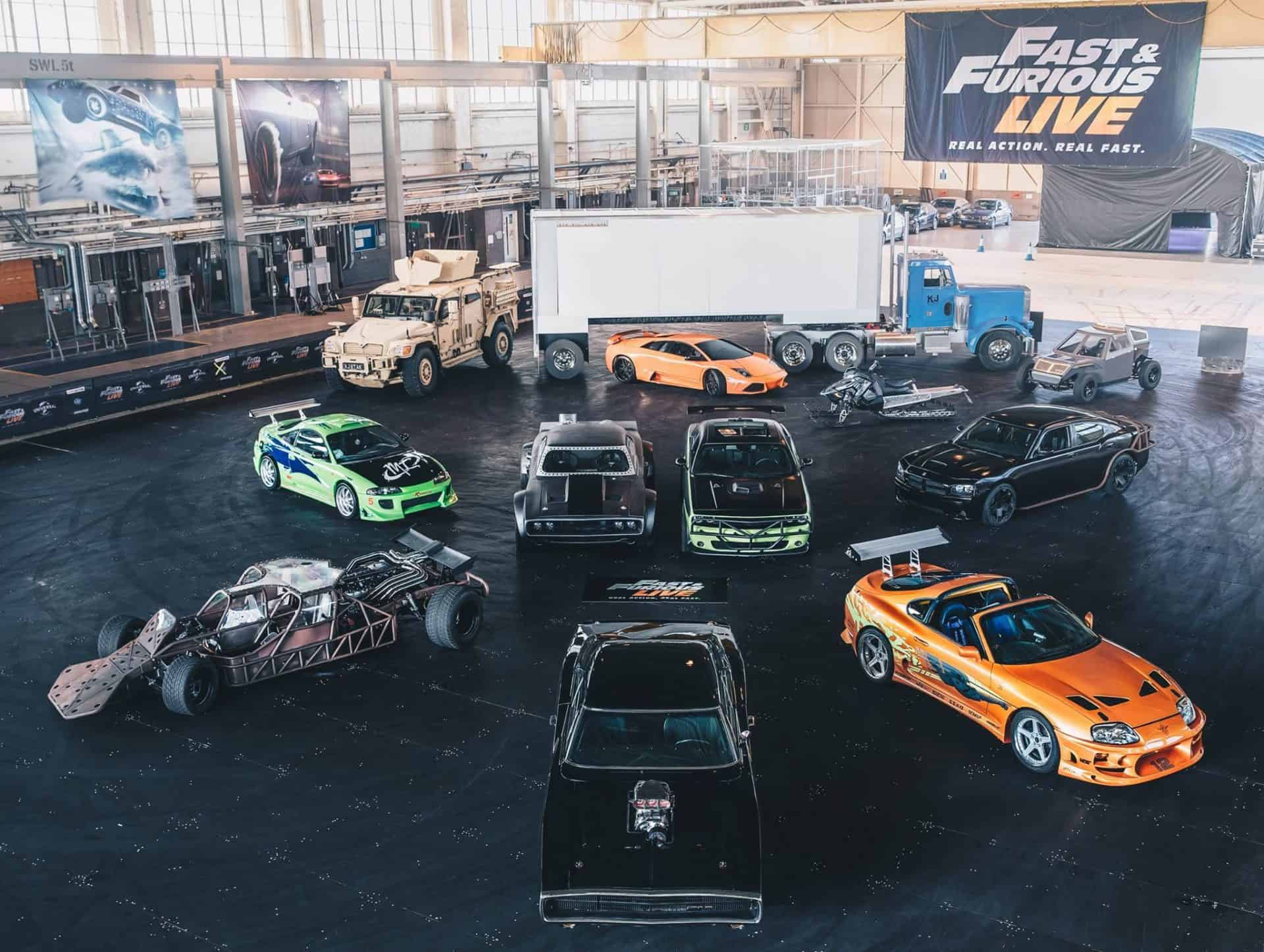Fast & Furious Live collection