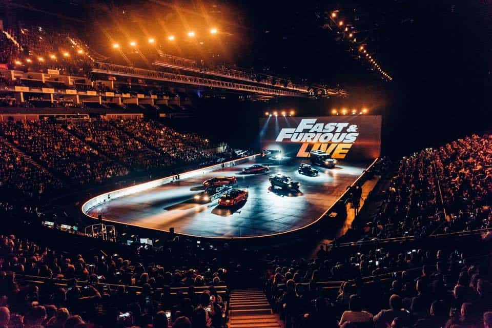 Fast & Furious Live stage