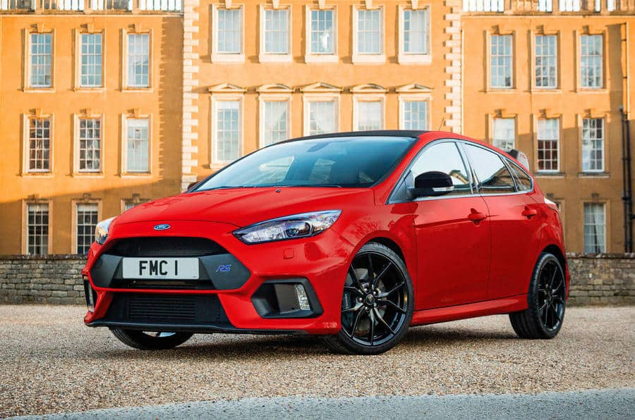 Focus RS Race Red