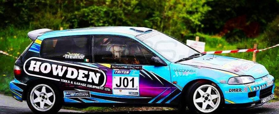 Jonny Treanor Wins The DMRR Quaife Honda Civic Sequential Gearbox Championship