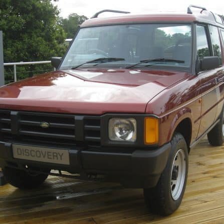 Land Rover Discovery 1st off line