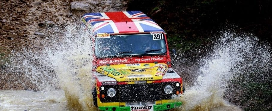 AJS Tyres Wins 4×4 Production Class at Rallye Labourd