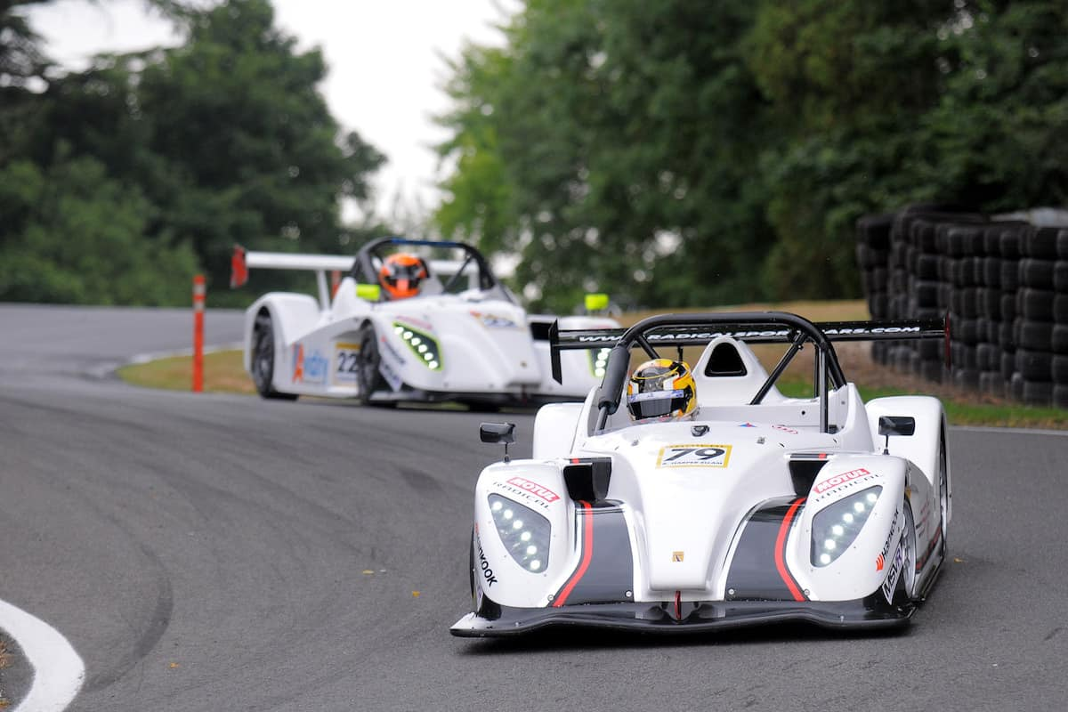 Harper-Ellam On Top Form in Radical SR1 Cup At Cadwell Park