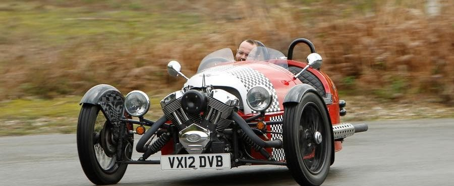Autocar Review – Morgan 3 Wheeler