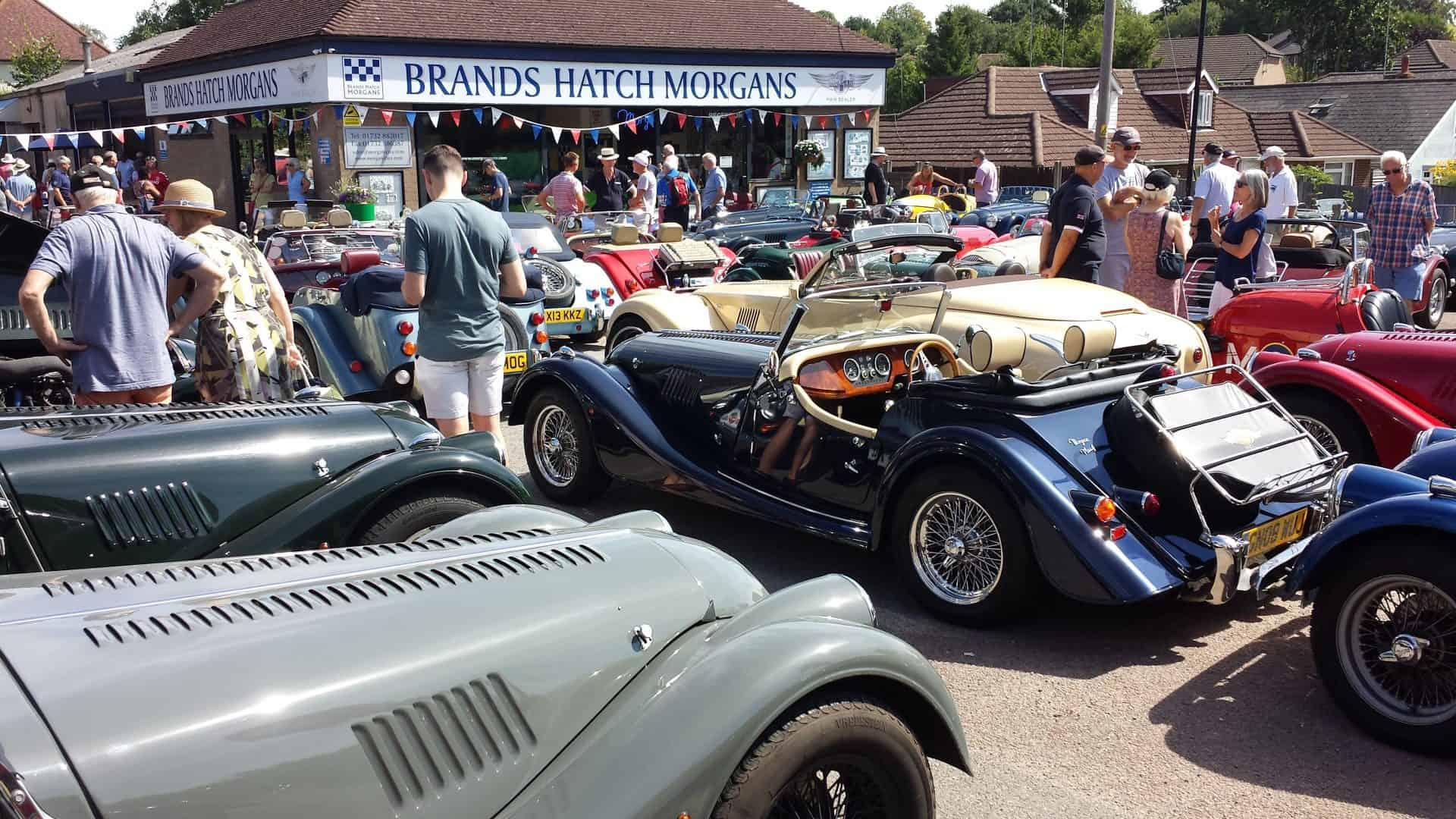 Brands Hatch Morgans