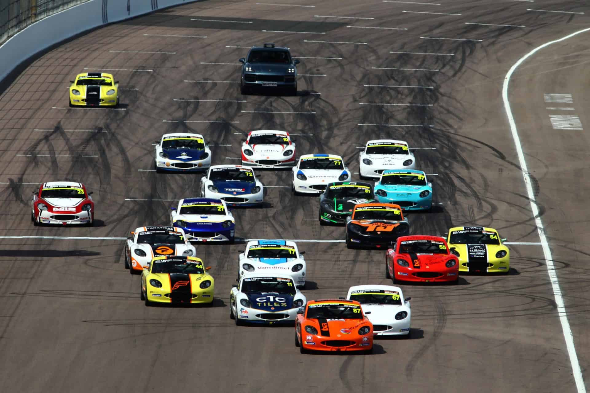 Ginetta Juniors Rockingham