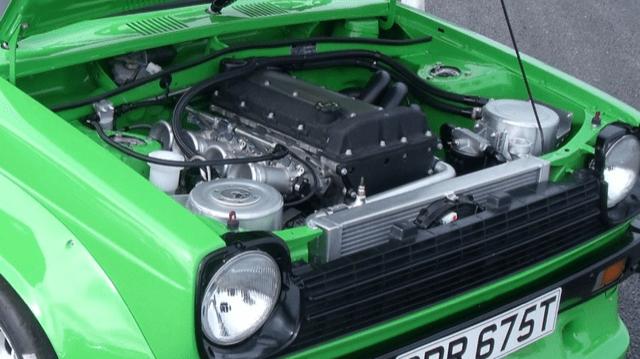 Toyota Starlet P60 engine