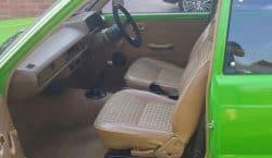 Toyota Starlet P60 original interior