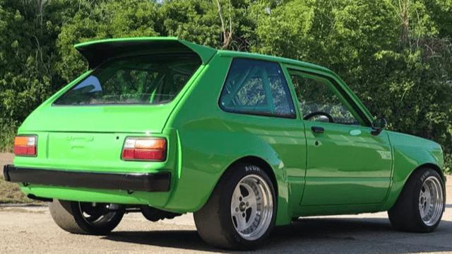 Toyota Starlet P60 rear